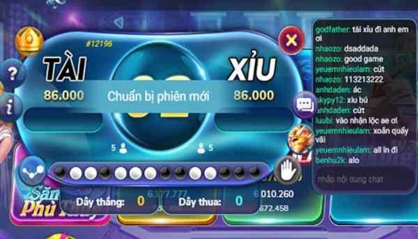 Tài Xỉu đổi thưởng Online
